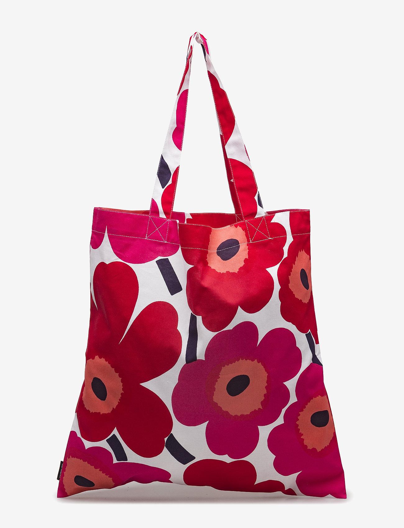 Marimekko Home - PIENI UNIKKO BAG - tote bags - white, red - 0