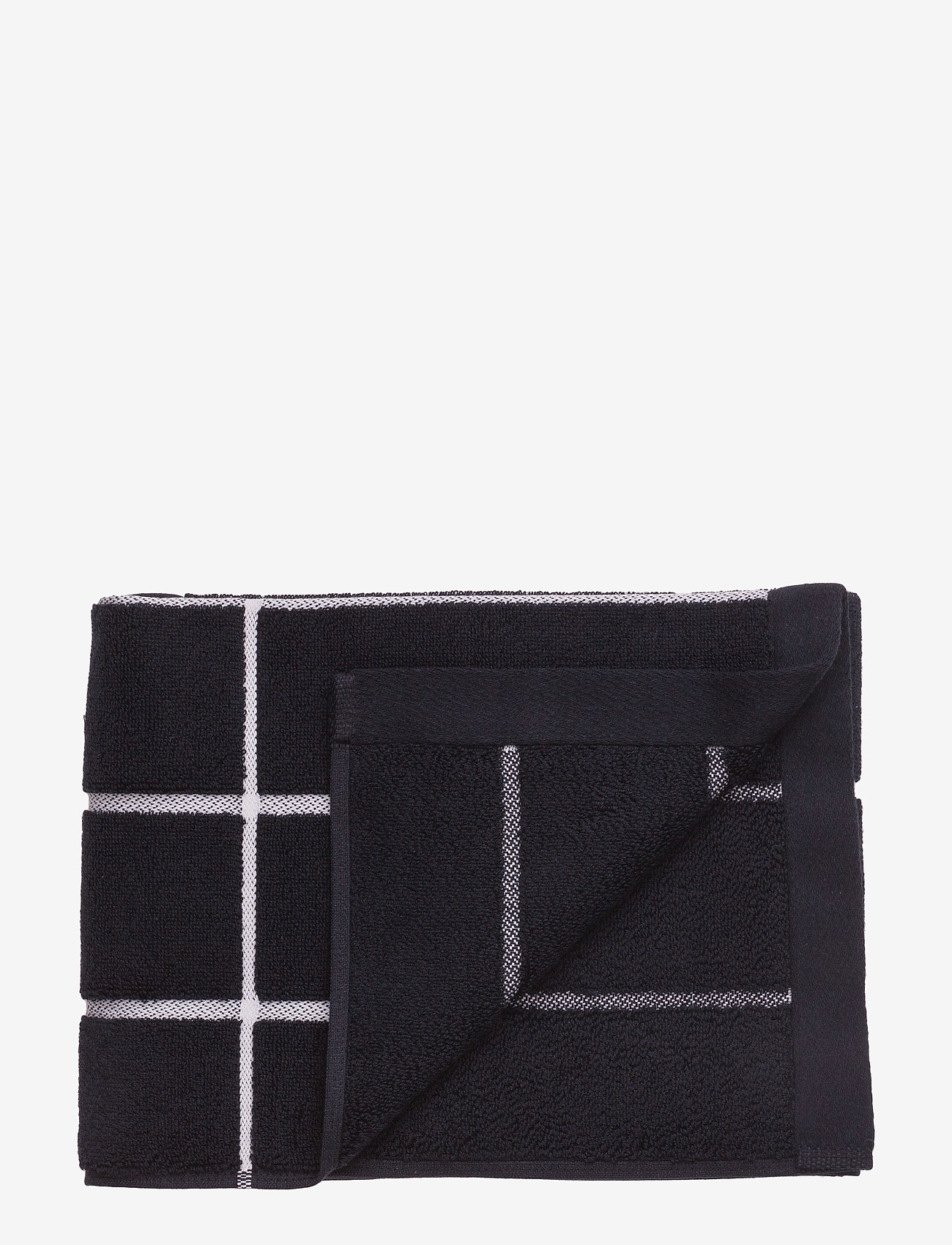 Marimekko Home - TIILISKIVI BATH TOWEL - ręczniki kąpielowe - black, white - 0