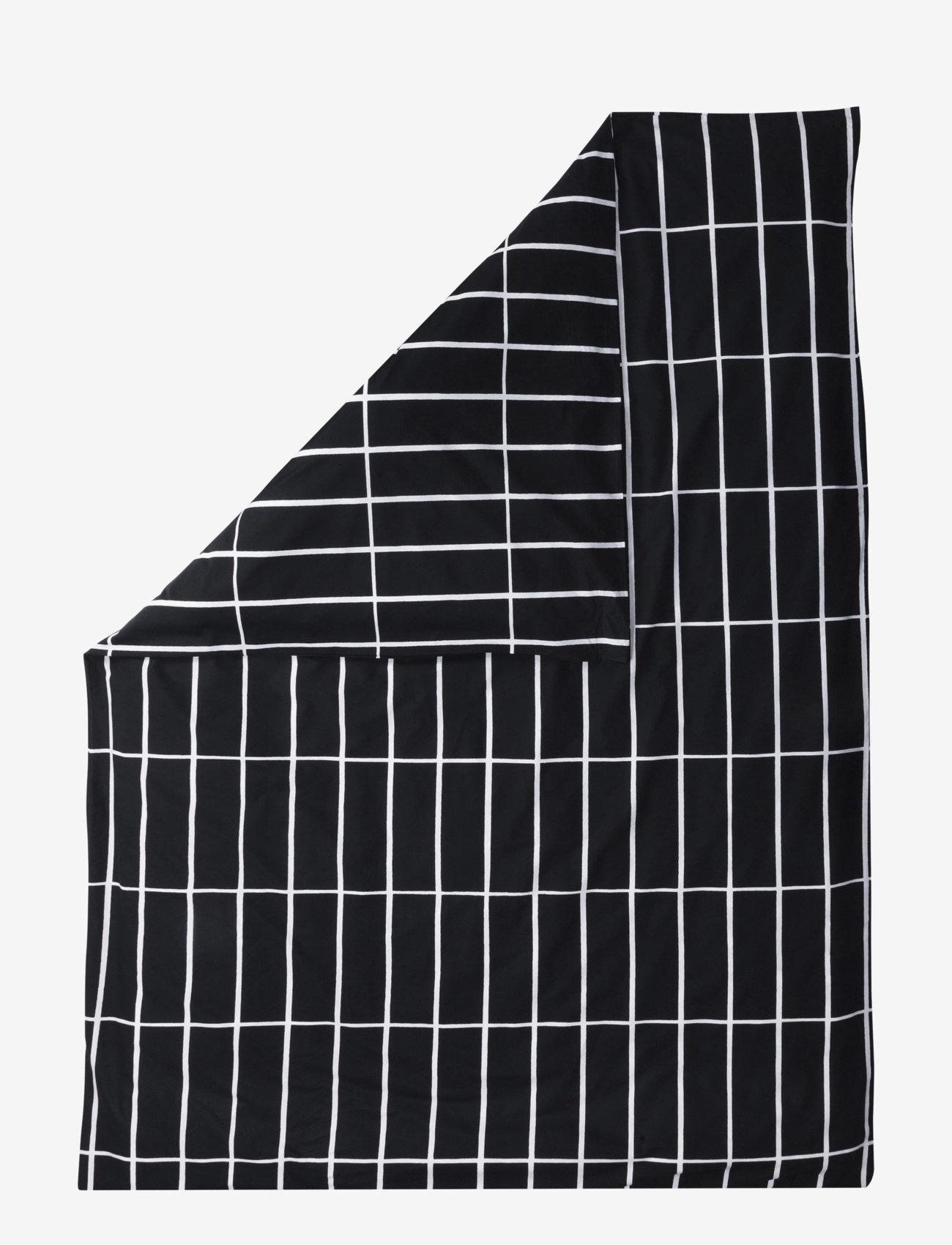 Marimekko Home - TIILISKIVI DUVET COVER - black, white - 0