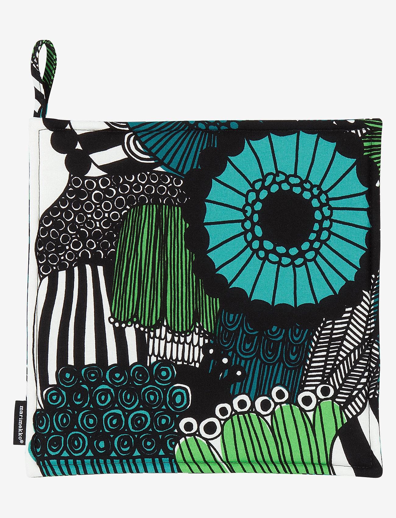Marimekko Home - PIENI SIIRTOLAPUUTARHA POT HOLDER - grydelapper & ovnhandsker - white, green, black - 0
