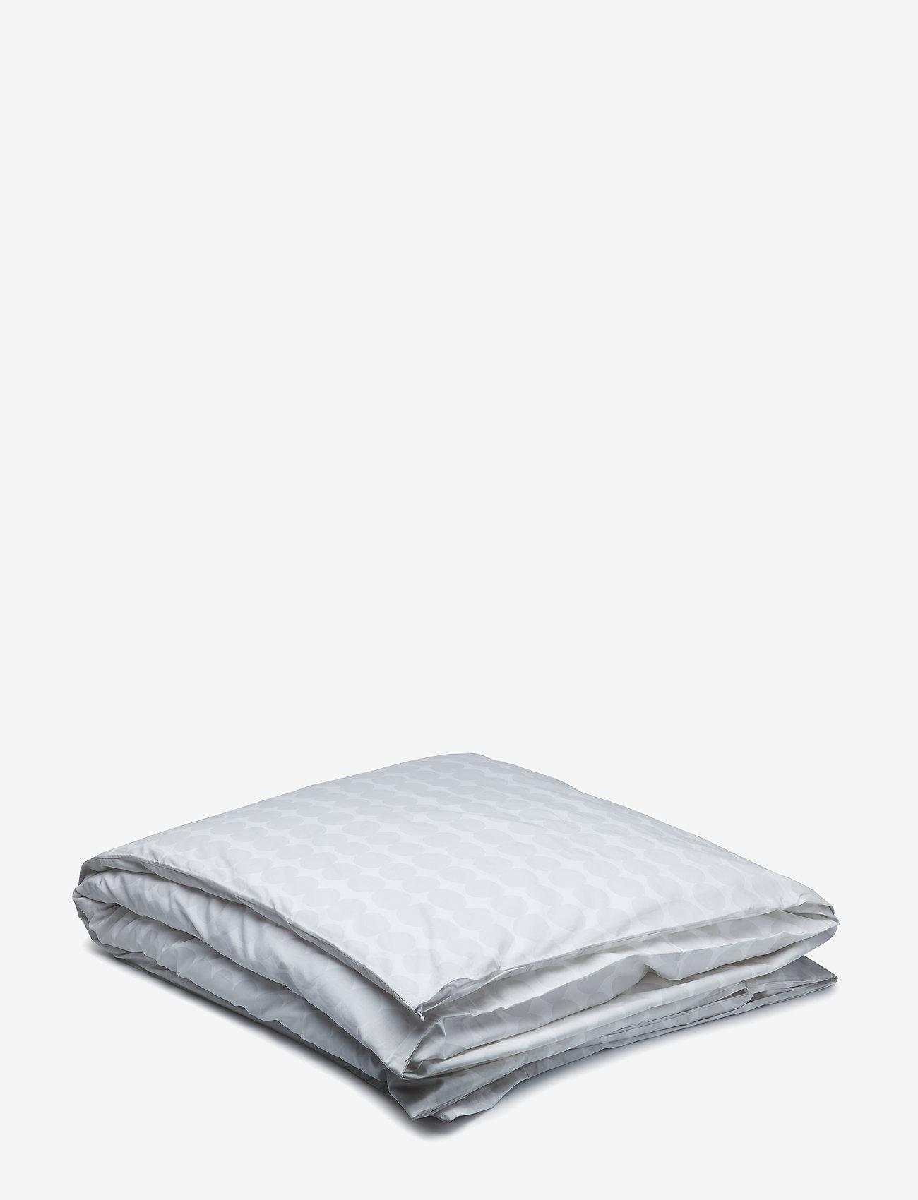 Marimekko Home - RÄSYMATTO DUVET COVER - duvet covers - white, light grey - 0