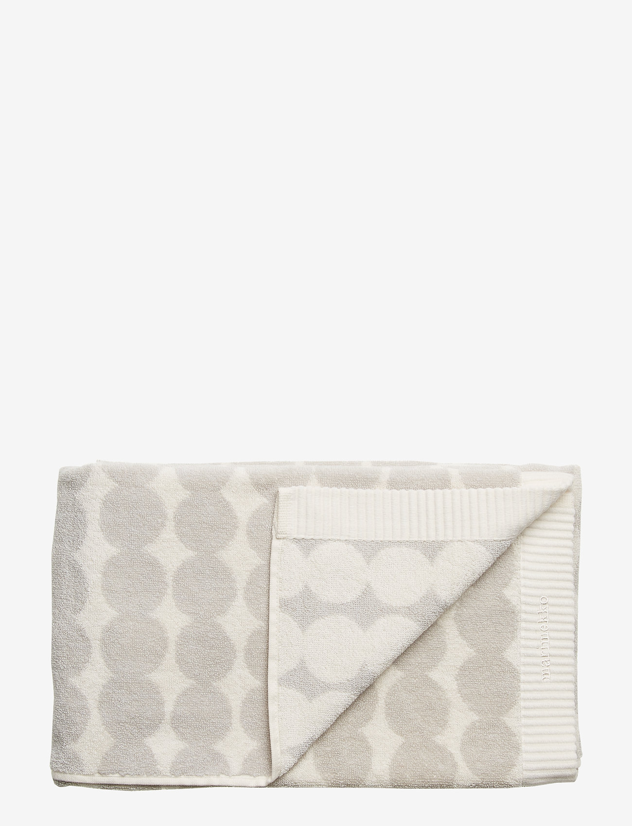 Marimekko Home - RÄSYMATTO BATH TOWEL - ręczniki kąpielowe - white, light grey - 0