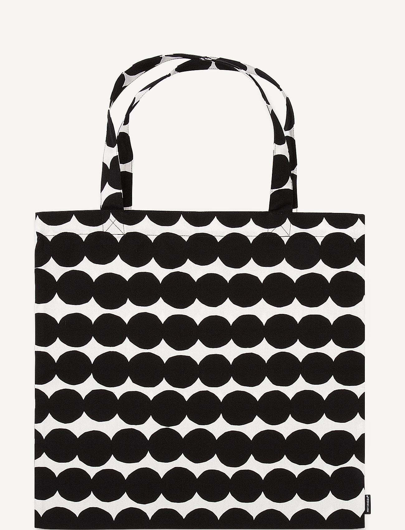 Marimekko Home - RÄSYMATTO BAG - tote bags - white, black - 0
