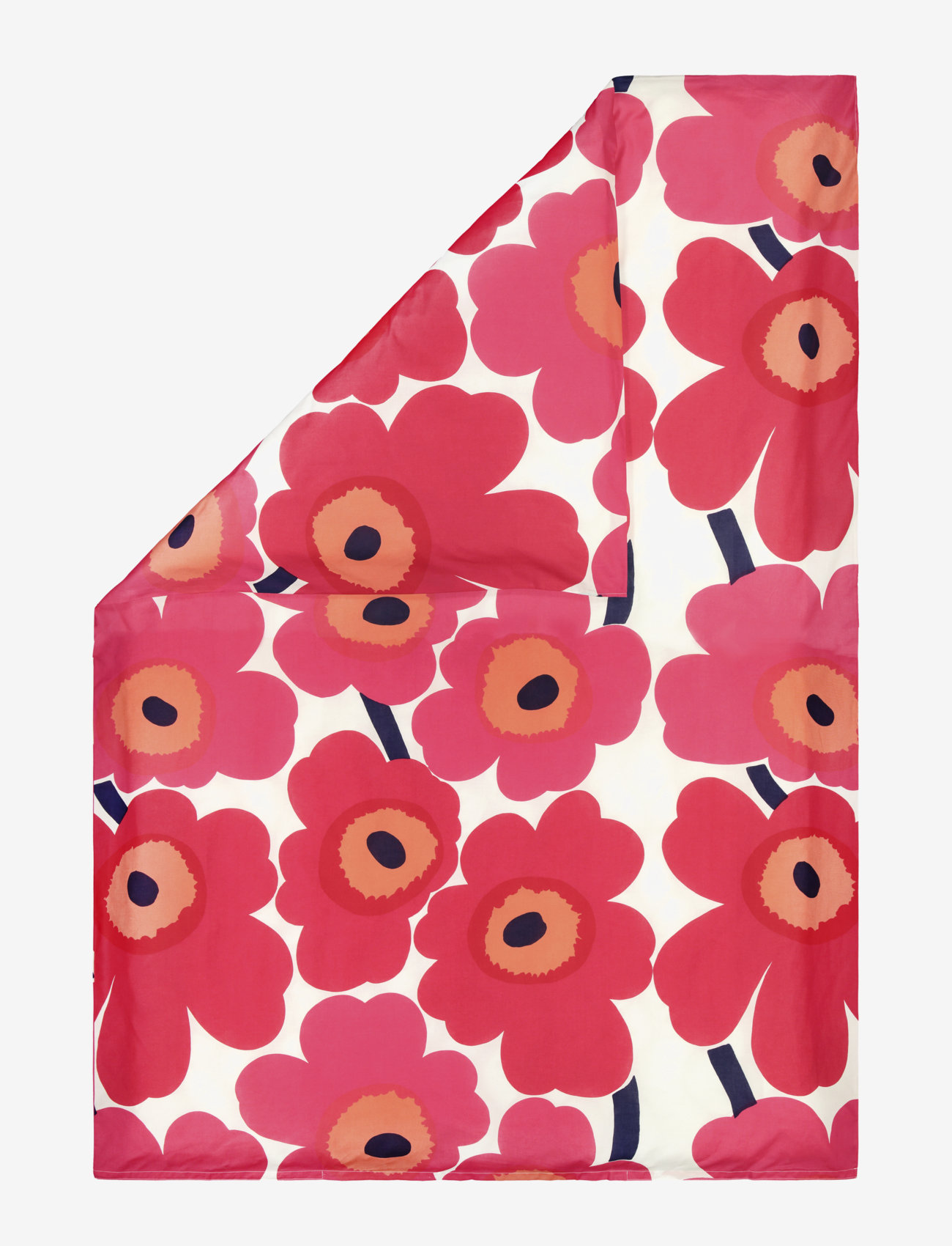 Marimekko Home - UNIKKO DUVET COVER - duvet covers - white, red - 0