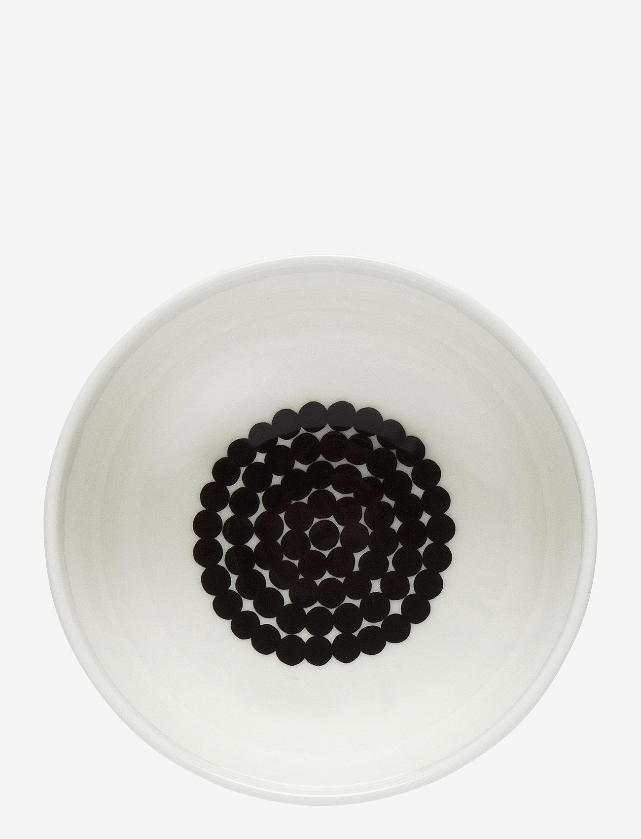 Marimekko Home - RÄSYMATTO BOWL - morgenmadsskåle - white, black - 0