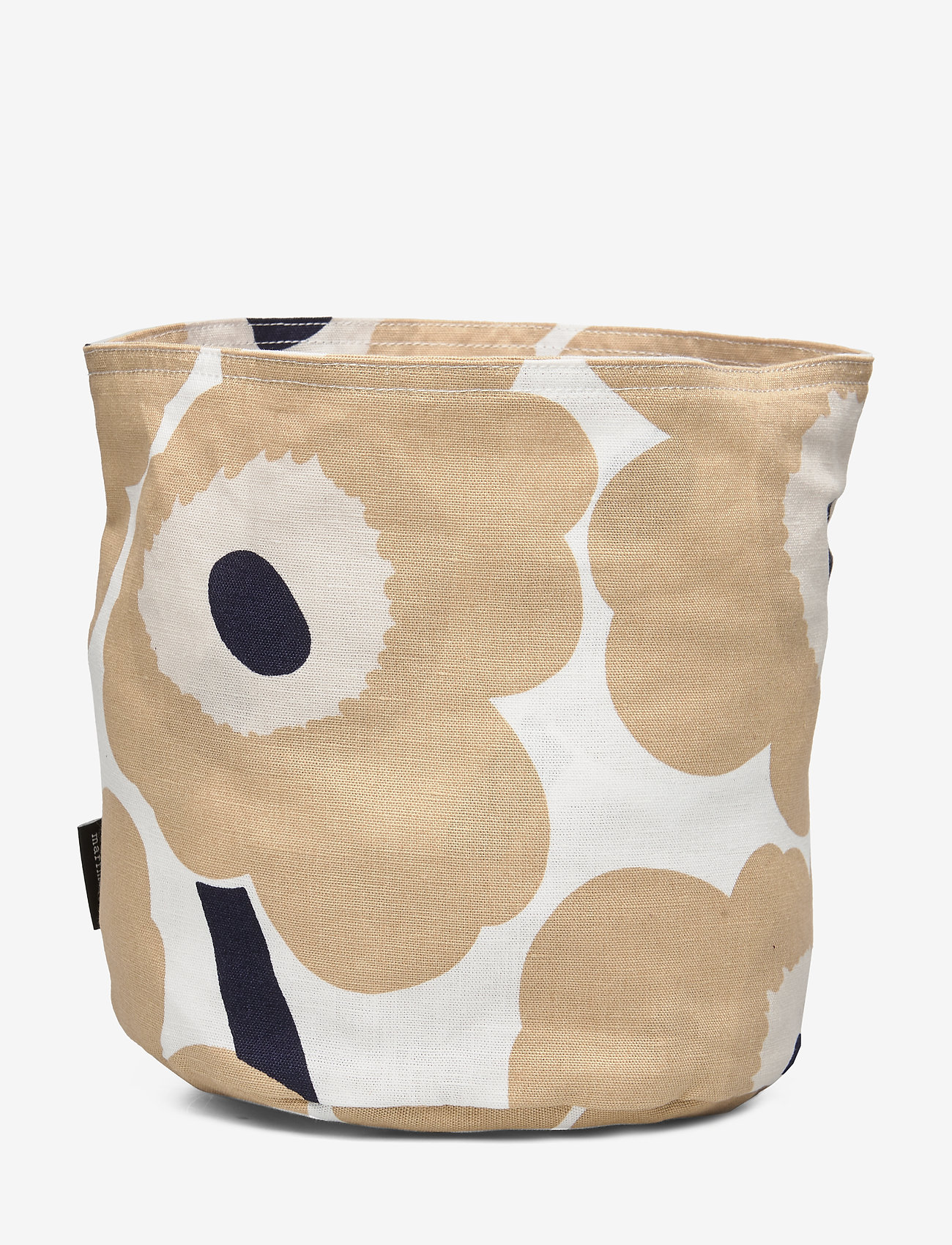 Marimekko Home - PIENI UNIKKO BREAD BASKET - accessories - off-white, beige, dark blue