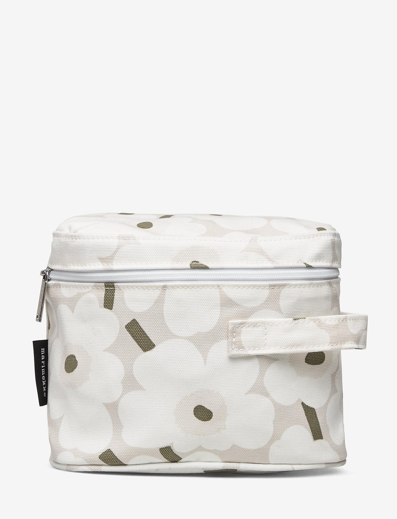 Marimekko Home - VUOLU MINI UNIKKO - toilettasker - beige, white, greygreen - 0