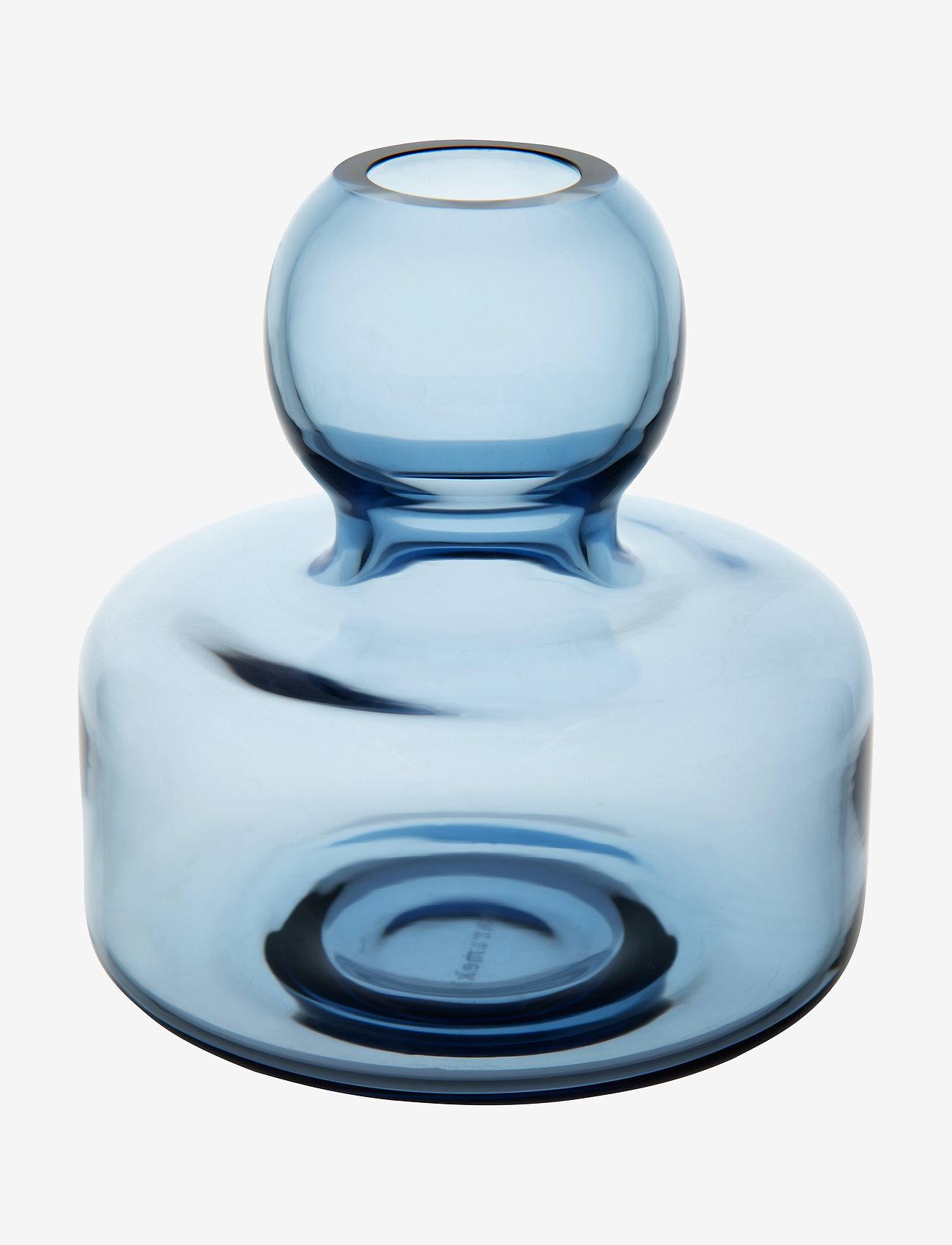 Marimekko Home - FLOWER VASE - dark blue - 0