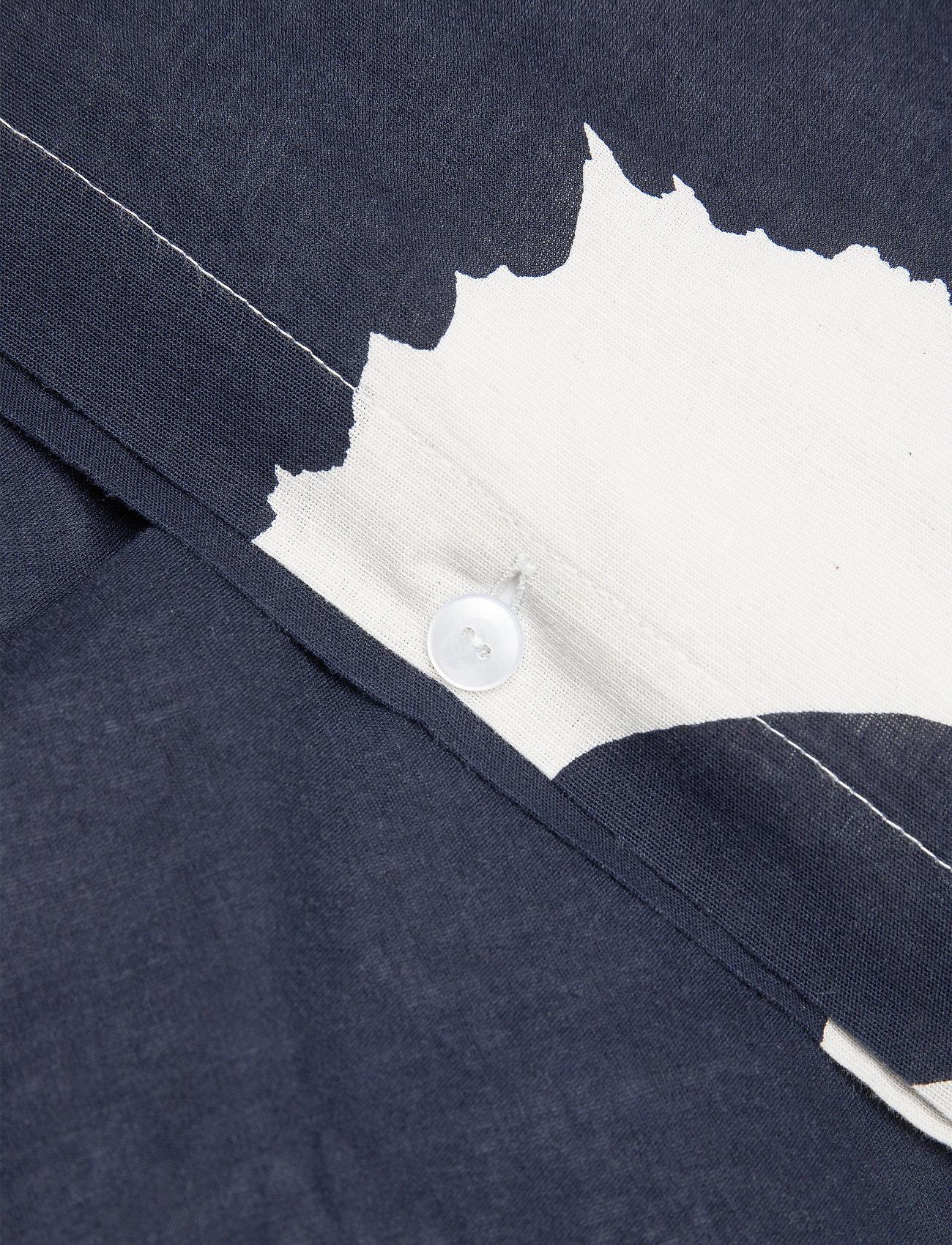 Marimekko Home - UNIKKO CO/LI DC - poszwa na kołdrę - cotton, dark blue - 1