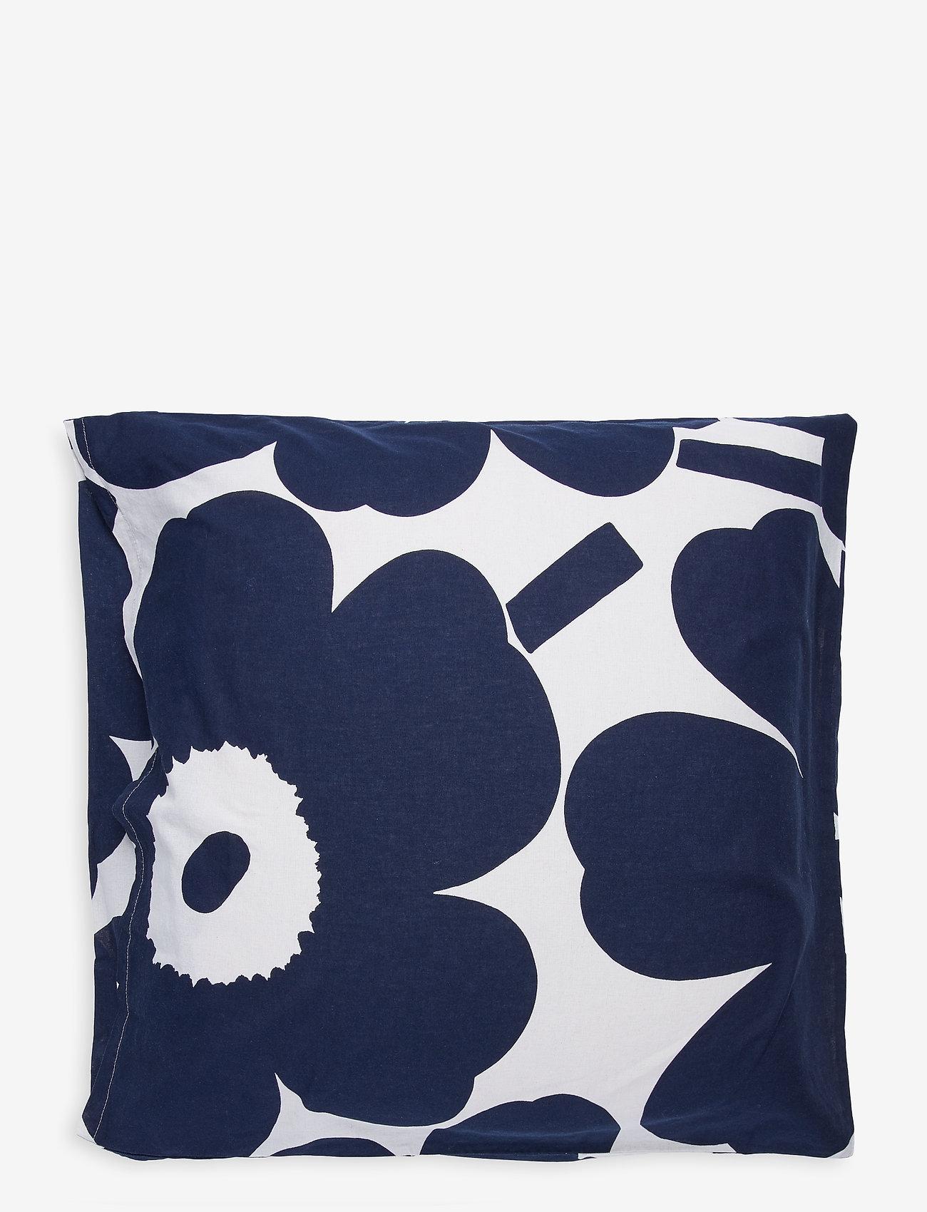 Marimekko Home - UNIKKO CO/LI DC - taies d'oreiller - cotton, dark blue - 1
