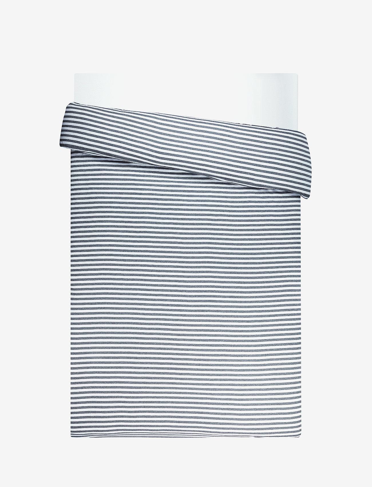 Marimekko Home - TASARAITA DUVET COVER - housses de couette - white, grey - 0