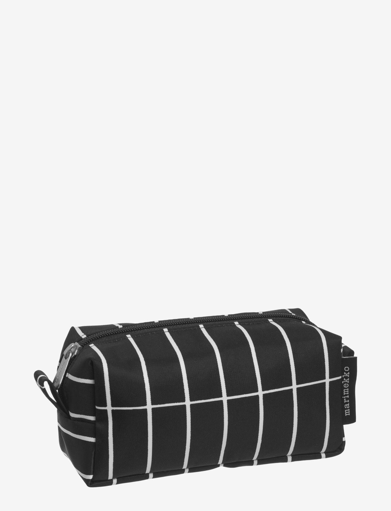 Marimekko Home - TIISE PIENI TIILISKIVI COSMETIC BAG - toilettasker - black/white - 1