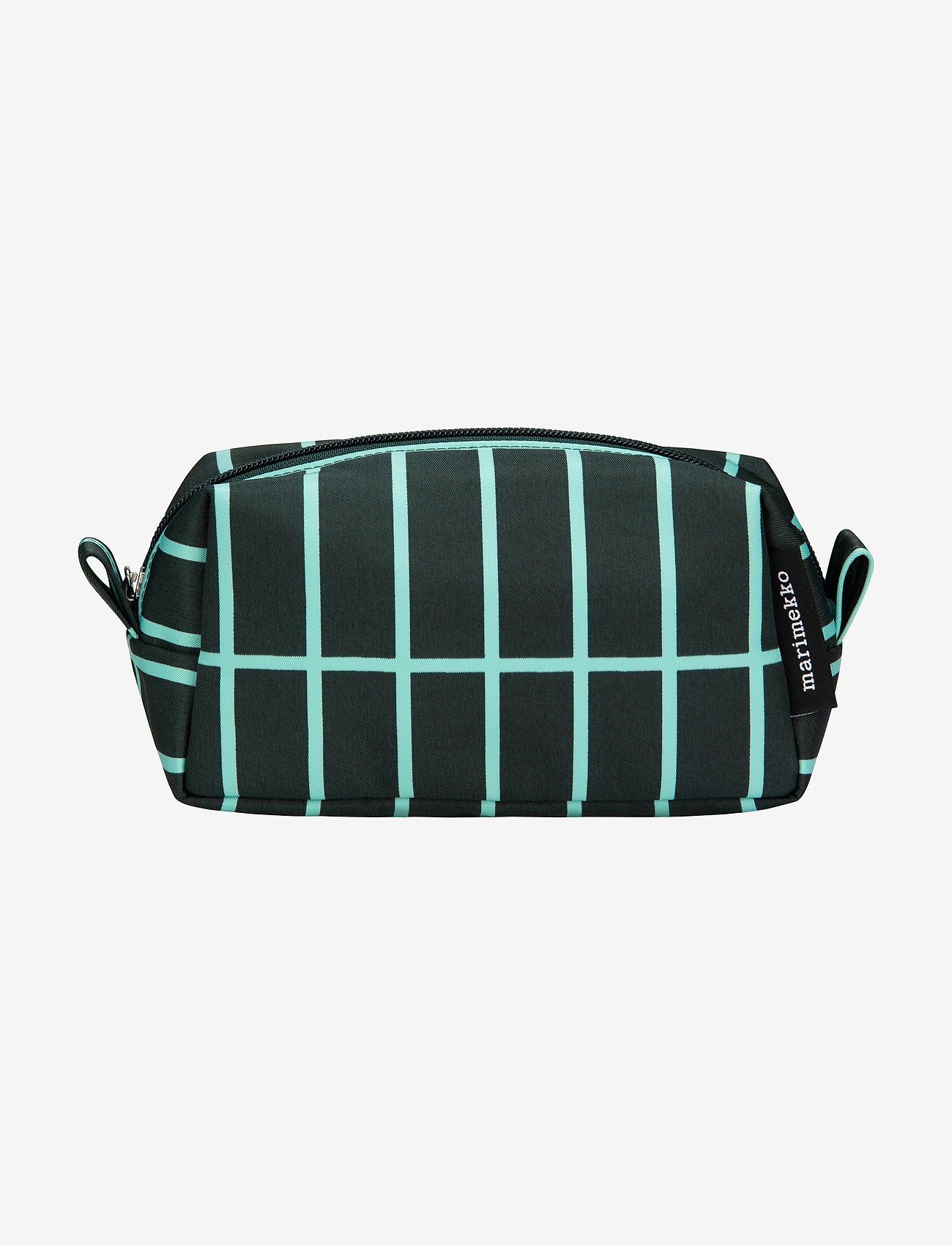 Marimekko Home - TIISE PIENI TIILISKIVI COSMETIC BAG - toilettasker - dark green, light blue - 0