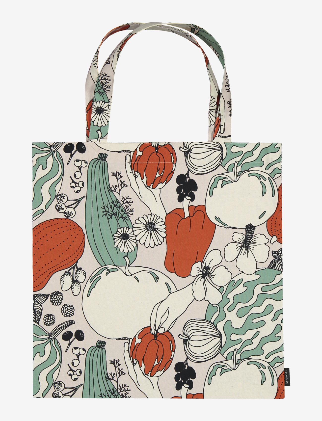 Marimekko Home - VIHANNESMAA BAG - tote bags - red, green - 0