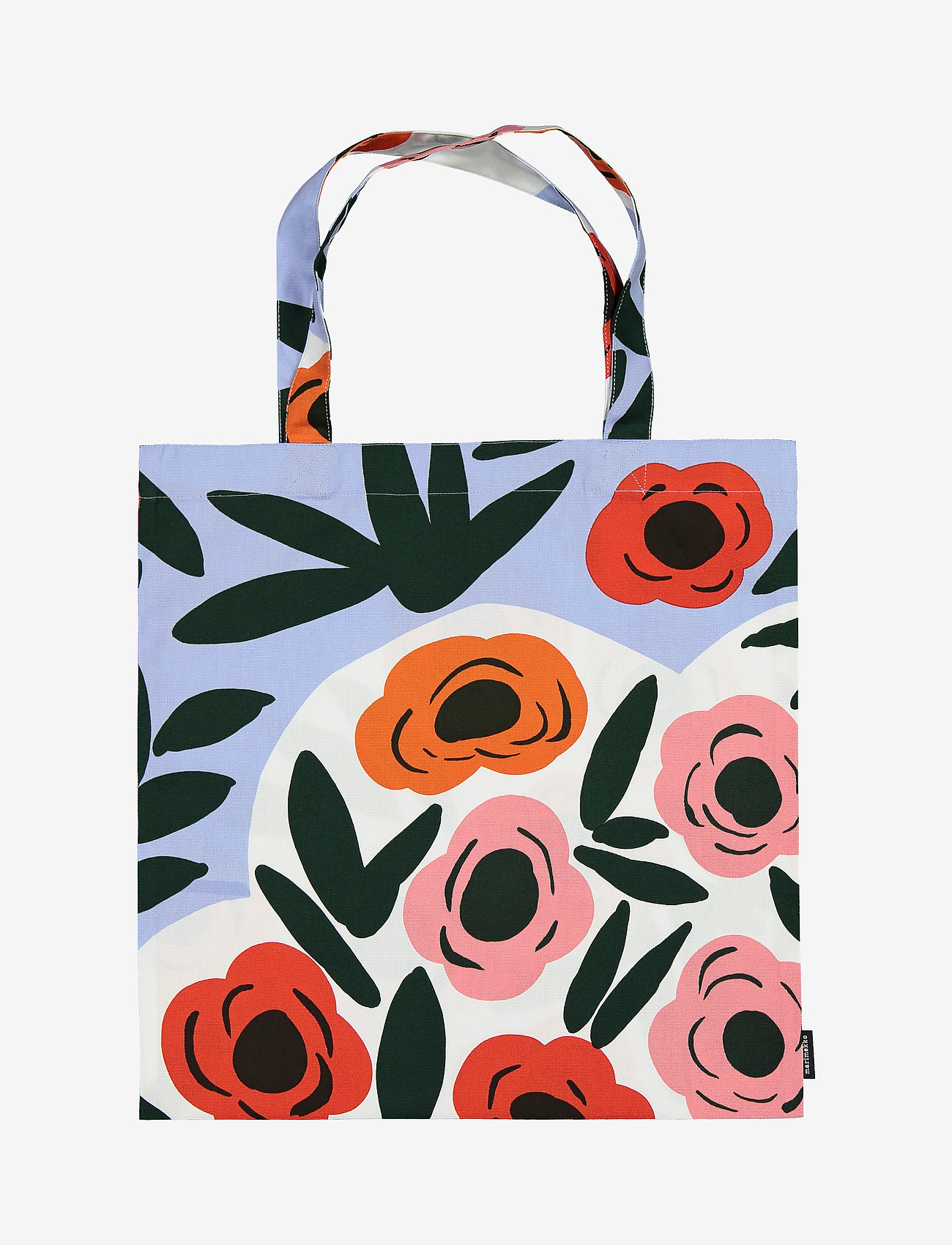 Marimekko Home - RUUKKU BAG - tote bags - light blue, red, dark green - 0