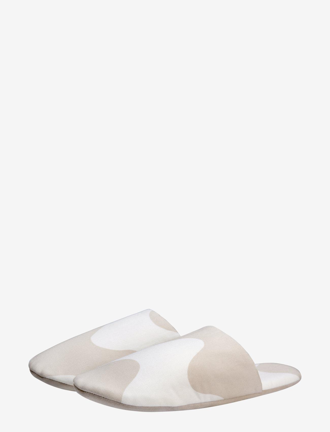 Marimekko Home - LOKKI SLIPPERS - tossut - white, beige - 1