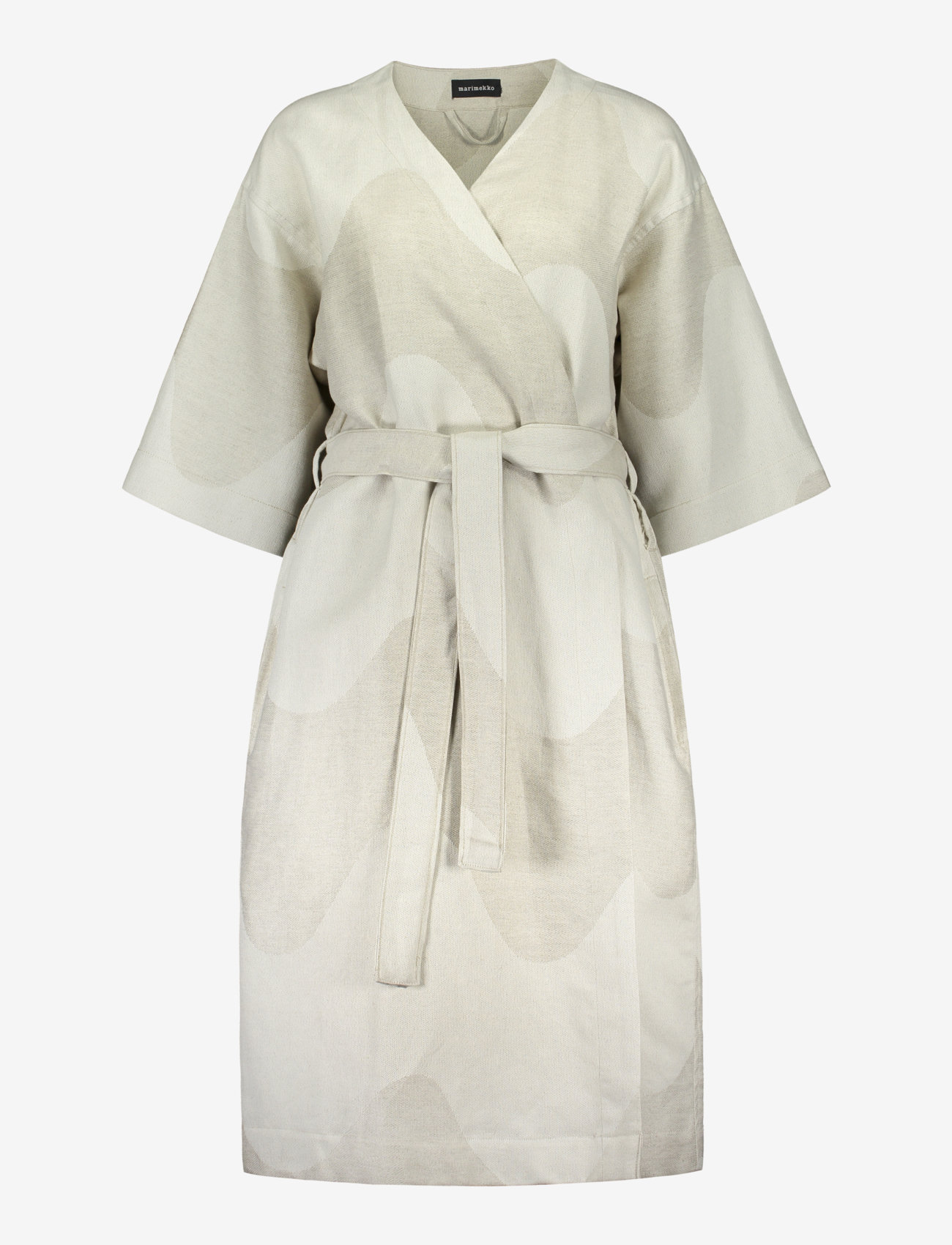 Marimekko Home - LOKKI MORNING GOWN - pegnoirs - white, - 0