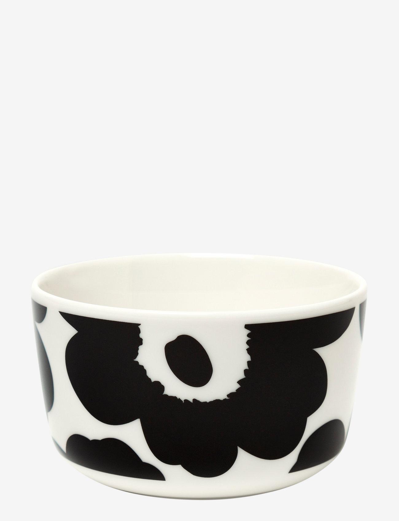 Marimekko Home - UNIKKO BOWL - white, black - 0