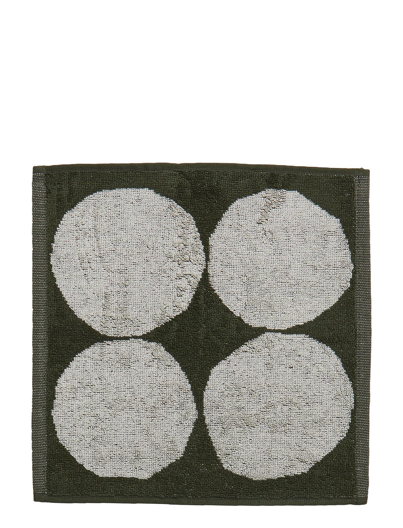 Marimekko Home KIVET MINI TOWEL - ECRU, GREEN