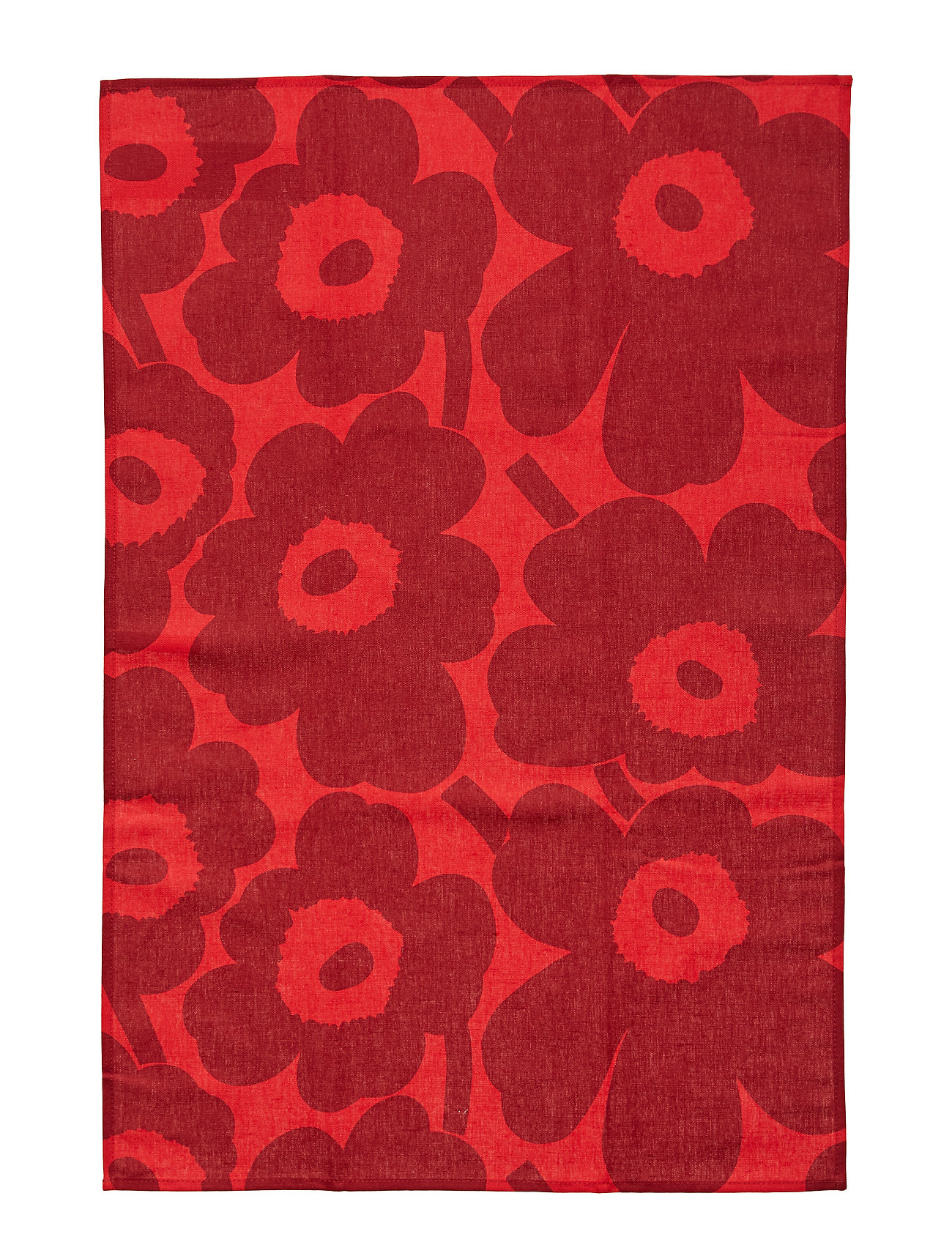 Marimekko Home P.UNIKKO KITCHEN TOWEL 2 PCS - RED, DARK RED
