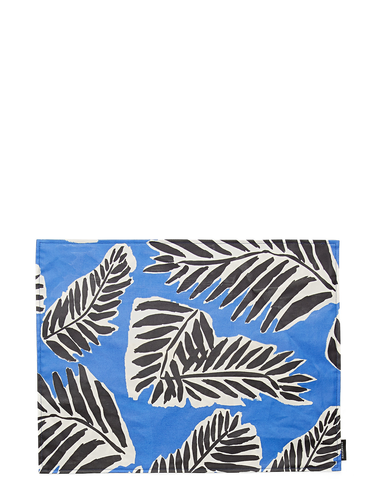 Marimekko Home BABASSU ACRYLIC COTTON PLACEMAT - BLUE, BLACK, OFF-WHITE