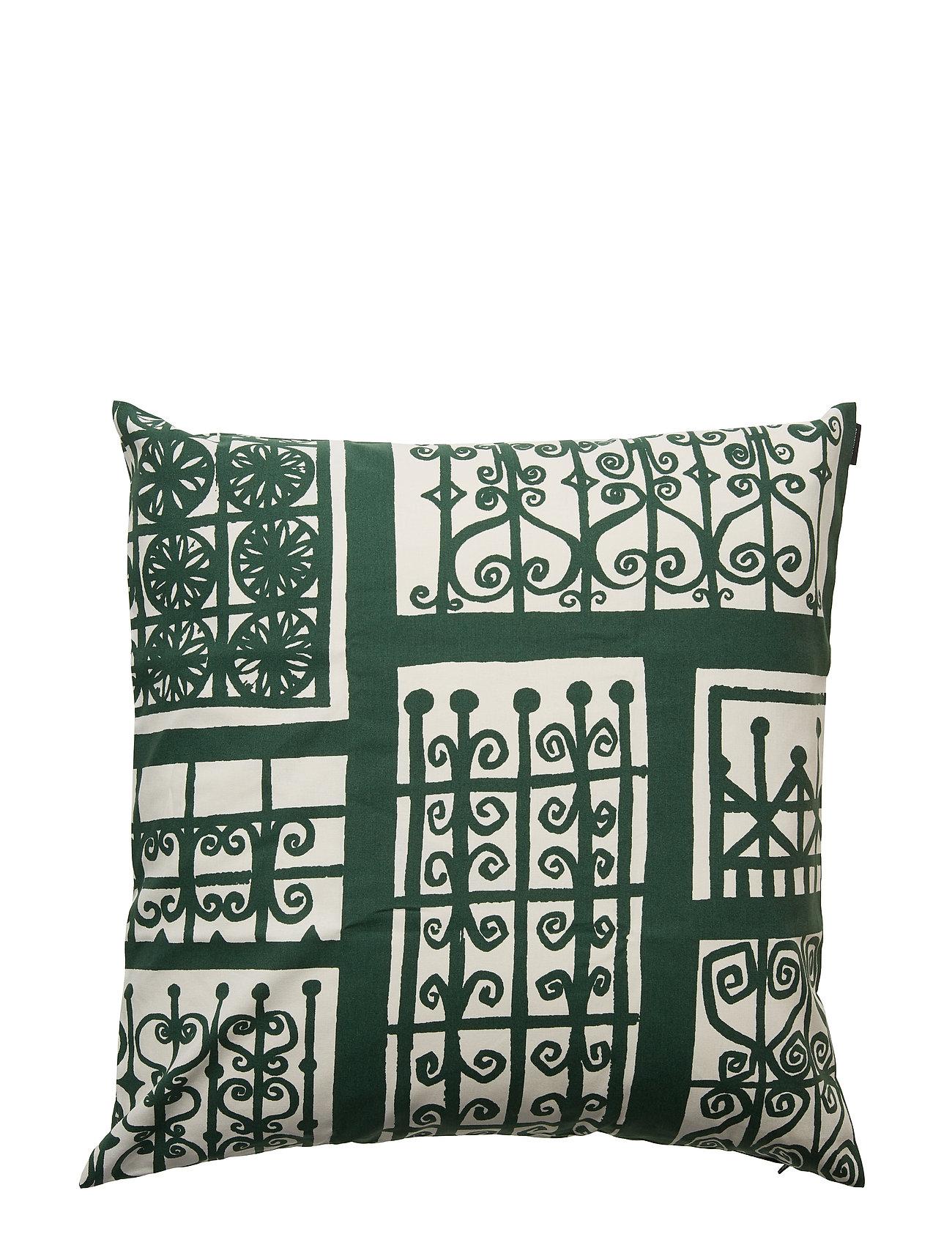 Pariisin Coverdark Cushion Home WhiteMarimekko Portit GreenOff FKlcT1J