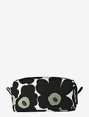Marimekko Home - TIISE MINI UNIKKO COSMETIC BAG - toilettasker - white,black - 0