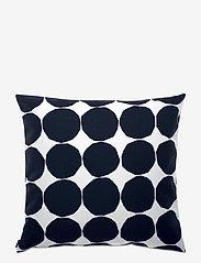 Marimekko Home - PIENET KIVET CUSHION COVER - poszewki na poduszki ozdobne - white,black - 0