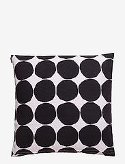 Marimekko Home - PIENET KIVET CUSHION COVER - pudebetræk - white,black - 1