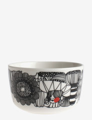 Marimekko Home - SIIRTOLAPUUTARHA BOWL - white,black,red - 1
