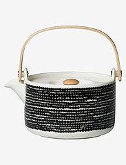 Marimekko Home - SIIRTOLAPUUTARHA TEAPOT 7DL - white, black - 0