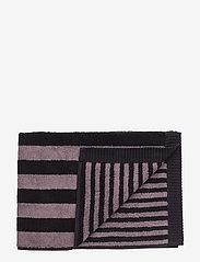 Marimekko Home - KAKSI RAITAA HAND TOWEL - ręczniki kąpielowe - grey, black - 0