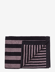 Marimekko Home - KAKSI RAITAA BATH TOWEL - ręczniki kąpielowe - grey, black - 0