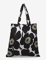 Marimekko Home - PIENI UNIKKO BAG - sacs en toile - white, black - 1