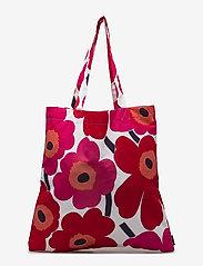 Marimekko Home - PIENI UNIKKO BAG - tote bags - white, red - 1