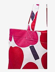 Marimekko Home - PIENI UNIKKO BAG - tote bags - white, red - 3