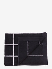 Marimekko Home - TIILISKIVI GUEST TOWEL - towels - black, white - 0