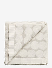 Marimekko Home - RÄSYMATTO HAND TOWEL - håndklæder - white, light grey - 0