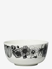 Marimekko Home - SIIRTOLAPUUTARHA BOWL - tarjoilukulhot - white, black - 0