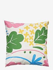 Marimekko Home - ONNI CUSHION COVER - pudebetræk - white, multicolor - 0