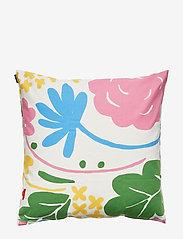 Marimekko Home - ONNI CUSHION COVER - pudebetræk - white, multicolor - 1