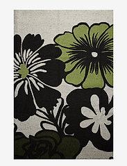 Marimekko Home - ELÄKÖÖN ELÄMÄ BLANKET - tæpper - white, black, green - 2
