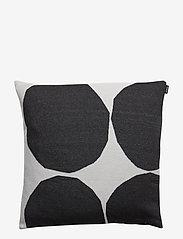 Marimekko Home - KIVET CUSHION COVER - pudebetræk - off white, black - 1