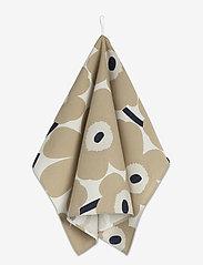 Marimekko Home - P.UNIKKO KITCHEN TOWEL 2 PCS - ręczniki kuchenne - off-white, beige, dark blue - 1