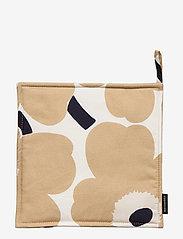 Marimekko Home - PIENI UNIKKO POT HOLDER - grydelapper & ovnhandsker - off-white, beige, dark blue - 1