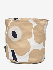 Marimekko Home - PIENI UNIKKO BREAD BASKET - accessories - off-white, beige, dark blue - 1