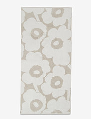 Marimekko Home - UNIKKO BATH TOWEL - hand towels & bath towels - beige, white - 0