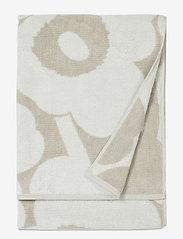 Marimekko Home - UNIKKO BATH TOWEL - hand towels & bath towels - beige, white - 1