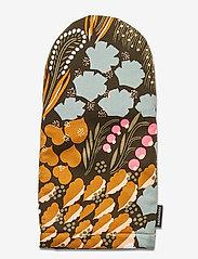 Marimekko Home - PIENI LETTO OVENMITTEN - accessoires - dark green, brown, peach - 0