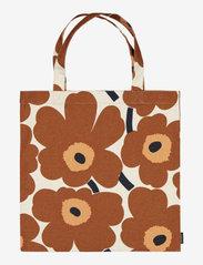 Marimekko Home - PIENI UNIKKO BAG - tote bags - cotton, chestnut - 0